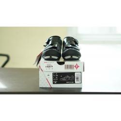 รองเท้าจักรยานผู้หญิง SPECIALIZED EMBER สีดำ/เงิน 38/7.25