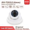 กล้อง HD-TVI 2.0MP ทรงโดม HIKVISION
