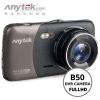 "ANYTEK กล้องติดรถยนต์ รุ่น B50 1080P 4.0""TFT 170° Wide Angle Dual Lens Car Camera"