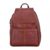 กระเป๋าเป้หนังแท้ ทำจากหนังวัวแท้ 100% นุ่ม ทน เท่ รุ่น Charlie สีแทน ใช้งานง่าย ใส่ของได้เยอะ