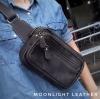 กระเป๋าคาดเอว รุ่น Alpha สีน้ำตาลเข้ม (No.110)