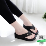 รองเท้าสุขภาพสไตล์ฟิทฟลอบ T134-ดำ [สีดำ]