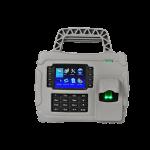 เครื่องแสกนลายนิ้วมือ รองรับการใช้บัตร สำหรับพกพา ใช้สำหรับลงเวลาทำงาน ยี่ห้อ ZKTECO รุ่น ZK-S922