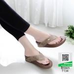 รองเท้าสุขภาพสไตล์ฟิทฟลอบ T134-น้ำตาล [สีน้ำตาล ]
