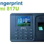 เครื่องสแกนลายนิ้วมือ Fingerprint HIP รุ่น Cmi 817U รองรับ 1,000 ลายนิ้วมือ [เครื่องบันทึกเวลาทำงาน]