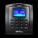 เครื่องทาบบัตร มีแผงปุ่มกด สามารถควบคุมประตูได้ ยี่ห้อ ZKTECO รุ่น ZK-SC105