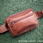 กระเป๋าคาดเอว รุ่น Alpha สีแทน (No.110)