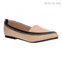 ลดล้างสต๊อก รองเท้าส้นเตี้ย NF09-41-APR [สีแอปริคอท]