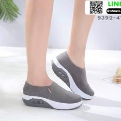 รองเท้าผ้าใบ งานใหม่ล่าสุด feragamo 9392-41-GRY [สีเทา]