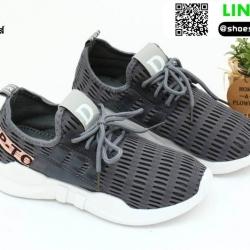 รองเท้าผ้าใบแฟชั่น S001-GRA [สีเทา]