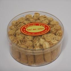 ทองม้วนหมูหยอง 切丝的猪肉 Crispy roll with Shredded pork ('M')