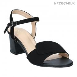 ลดล้างสต๊อก รองเท้าส้นเตี้ย NF3306-BLK [สีดำ]