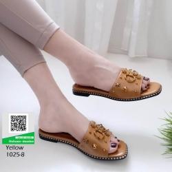 รองเท้าแตะ งานใหม่ล่าสุด 1025-8-เหลือง [สีเหลือง]