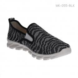 รองเท้าผ้าใบเพื่อสุขภาพ ทรงสปอร์ต (สีดำ )