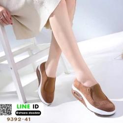 รองเท้าผ้าใบ งานใหม่ล่าสุด feragamo 9392-41-BWN [สีน้ำตาล]