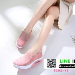 รองเท้าผ้าใบ งานใหม่ล่าสุด feragamo 9392-41-PNK [สีชมพู]