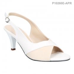 ลดล้างสต๊อก รองเท้าส้นเตี้ย P10260E-APR [สีแอปริคอท]