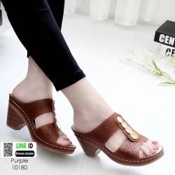 รองเท้าสุขภาพ พื้นนุ่ม 10180-ม่วง [สีม่วง]