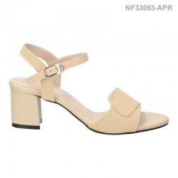 ลดล้างสต๊อก รองเท้าส้นเตี้ย NF3306-APR [สีแอปริคอท]