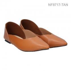 ลดล้างสต๊อก รองเท้าส้นแบน NF8717-TAN [สีแทน]