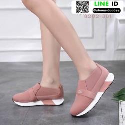 รองเท้าผ้าใบไร้เชือก chanel sneaker 8202-301-PNK [สีชมพู]