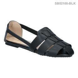 ลดล้างสต๊อก รองเท้าส้นแบน SB52100-BLK [สีดำ]
