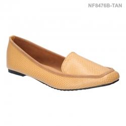 ลดล้างสต๊อก รองเท้าส้นแบน NF8476B-TAN [สีแทน]