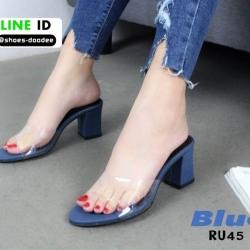 รองเท้าลำลอง สไตล์ maxi RU45-BLU [สีน้ำเงิน]