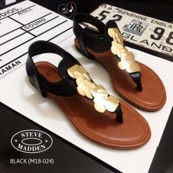 รองเท้าแตะรัดส้นSTYLE STEVE MADDEN (สีดำ)