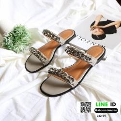 รองเท้าแตะสไตล์ชิว G12-64A2-GRY [สีเทา]