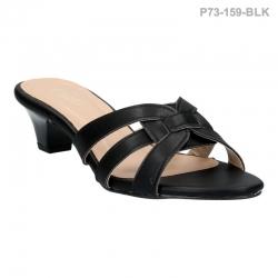 ลดล้างสต๊อก รองเท้าส้นเตี้ย P73-159-BLK [สีดำ]