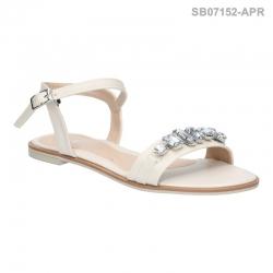 ลดล้างสต๊อก รองเท้าส้นแบน SB07152-APR [สีแอปริคอท]
