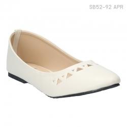 ลดล้างสต๊อก รองเท้าส้นแบน SB52-92-APR [สีแอปริคอท]