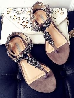 รองเท้าแตะผู้หญิงสีสีบรอนด์ชา งานdior (สีบรอนด์ชา)
