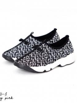 รองเท้าผ้าใบสีเทา สินค้านำเข้า งานแนวดิออร์ ผ้าแคนวาส ลายดำเ ขอบยางยืด เสริมส้น1นิ้ว