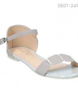 ลดล้างสต๊อก รองเท้าส้นแบน SB07-249-GRY [สีเทา]