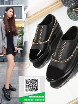 รองเท้าคัทชูส้นสูงสีขาว สวยเก๋หวานๆ (สีดำ )