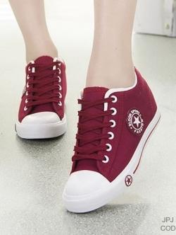 รองเท้าผ้าใบ Sneaker Converse Style (สีแดง )