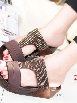 รองเท้าเพื่อสุขภาพสีน้ำตาล Soft Sandals (สีน้ำตาล )