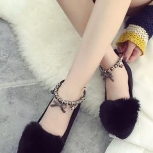 รองเท้าคัชชู STYLE KOREA (สีดำ)