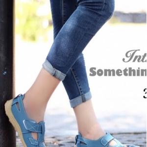 รองเท้าคัทชู สไตล์สุภาพ หนังนิ่ม (สีน้ำเงิน )