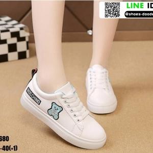 รองเท้าผ้าใบ นำเข้า100% ST680-BLU [สีน้ำเงิน]