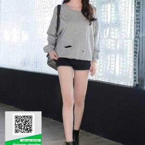 รองเท้าผ้าใบเกาหลี ซิปข้าง ใช้งานได้จริงทั้ง 2 ฝั่ง 11059-ดำ [สีดำ]