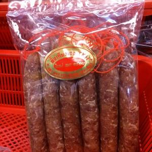 กุนเชียงเชือกแดง 中国香肠 Chinese Sausage ('M')