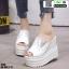 รองเท้าแบบสวมส้นเตารีด ST20-WHI [สีขาว] thumbnail 2