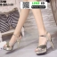 รองเท้าส้นสูงรัดข้อเปิดท้าย ST208-GLD [สีทอง] thumbnail 4