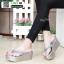 รองเท้าแตะแบบหนีบ ส้นโฟม JK8011-GRY [สีเทา] thumbnail 2