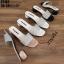 รองเท้าแตะสวมหน้าเพชร ST182-CRM [สีครีม] thumbnail 5
