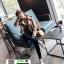 รองเท้าคัชชูหนังนิ่ม สไตล์แบรนด์ดัง 406-7-WHI [สีWHI] thumbnail 3