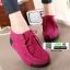 รองเท้าผ้าใบสไตล์เกาหลี 99-63-PINK [สีชมพู] thumbnail 3